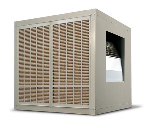 10,000 CFM Sidedraft Industrial Evaporative Cooler - Aspen Pads