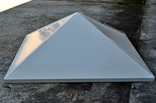 "18"" Swamp Cooler Pyramid Diffuser with Hanging Straps WPYR18"