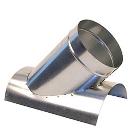 4 Quot 45 Degree Saddle Tap Branch Hvac Ductwork Sheet Metal