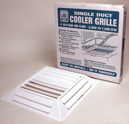 6 Way Plastic Swamp Cooler Grill For Mobile Home 7637
