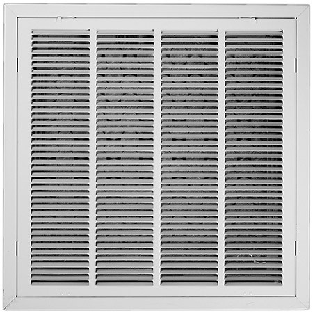 24 X 24 Air Return Filter Frame T Bar Ceiling White