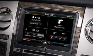 2015 Ford Expedition Navigation Kit for MyFord Touch Systems - Installed View