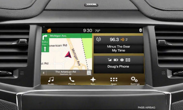 2016 Lincoln MKS Navigation Kit for SYNC 3 - Installed View