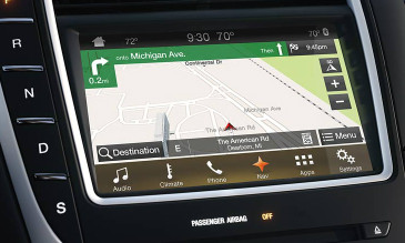 2016 Lincoln MKX Navigation Kit for SYNC 3 - Installed View