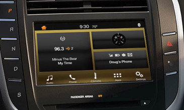 2015 Lincoln MKC SYNC 3 Retrofit Kit for MyLincoln Touch Vehicles - Installed View