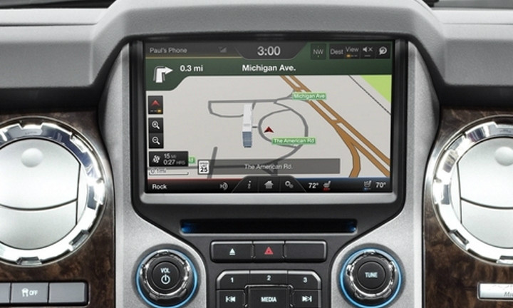1316' Ford F250 F350 Navigation Upgrade For Myford Touch 4d