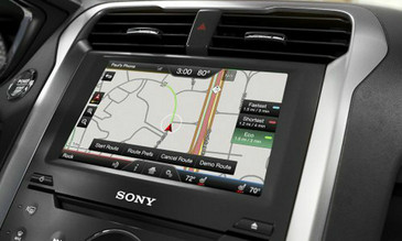 2013 2014 2015 Ford Fusion Navigation Kit for MyFord Touch Systems - Installed View