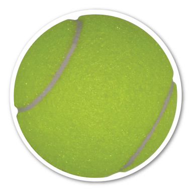 Whether recreational or professional, tennis is a sport played worldwide against a single opponent or between two teams knows as doubles. Our tennis magnet is a great way to show your enthusiasm for the sport that has been around over 100 years!