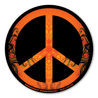 Peace Sign Magnet Magnet America