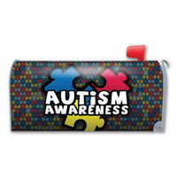 Autism Awareness Mailbox Cover Magnet