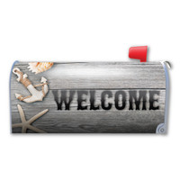 Welcome (Beach) Mailbox Cover Magnet