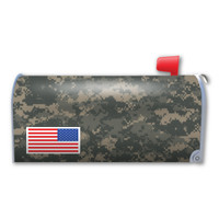 Camouflage US Flag Mailbox Cover Magnet