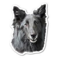 (Black) German Shepherd Magnet