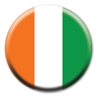 Irish Flag Circle Button