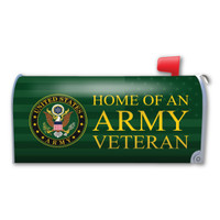 Home of an Army Veteran Mailbox Cover Magnet