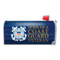Home of a Coast Guard Veteran Mailbox Cover Magnet