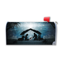 The Nativity Mailbox Cover Magnet