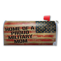Home of a Proud Military Mom Mailbox Cover Magnet