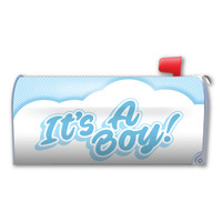 It's a Boy! Mailbox Cover Magnet