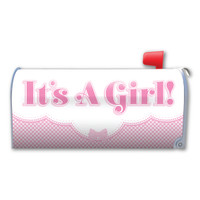 It's a Girl! Mailbox Cover Magnet