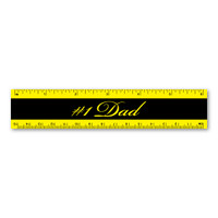 #1 Dad Ruler Magnet