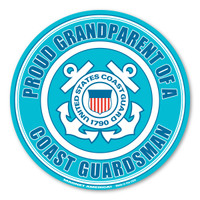 Proud Grandparent of a Coast Guardsman Magnet