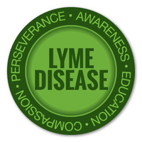 Lyme Disease Awareness Circle Magnet