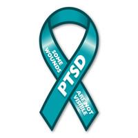 PTSD Ribbon Magnet