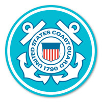 Coast Guard Large Seal Decal