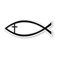 Black Cross Fish