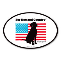 For Dog and Country Magnet
