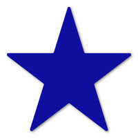 Dark Blue Star Magnet