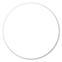 White Polka Dot Magnet