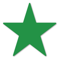 Dark Green Star Magnet