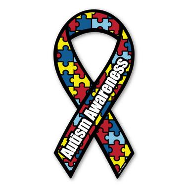 Autism Awareness Ribbon Magnet Magnet America