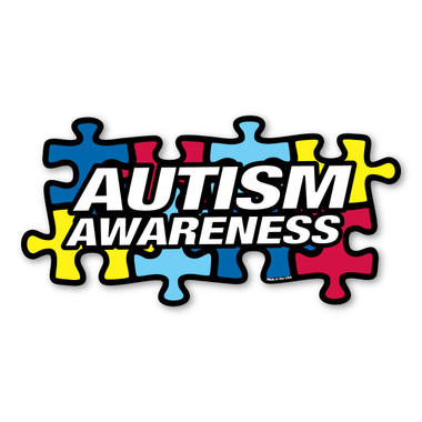 autism awareness puzzle piece magnet magnet america rh magnetamerica com  autism awareness ribbon clipart