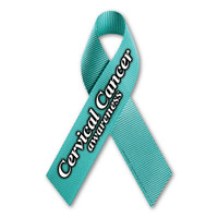Cervical Cancer Awareness Ribbon Magnet