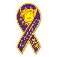 Neuroblastoma Awareness Ribbon Magnet