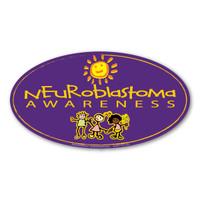 Neuroblastoma Awareness Oval  Magnet