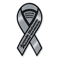 Juvenile Diabetes Awareness 2-in-1 Ribbon Magnet