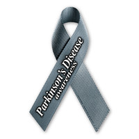 Parkinson's Disease Awareness Ribbon  Magnet