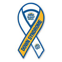 Buddy Walk Down Syndrome 2-in-1 Ribbon Magnet