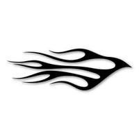 Classic Flames Dorado Design Magnet
