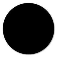 Black Polka Dot Magnet