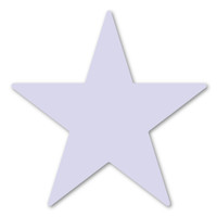 Lavender Star Magnet