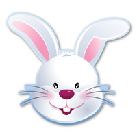 Easter Bunny Magnet