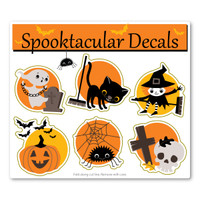 Spooktacular Halloween Pack Decal