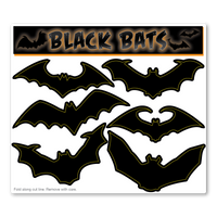 Black Bats Pack Magnet
