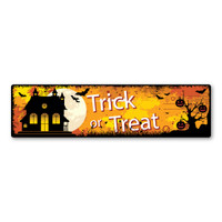 Trick or Treat Bumper Strip Magnet