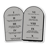 Ten Commandments Magnet